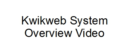 Kwikweb System Overview